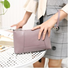 genuine leather small shoulder bag for women clutch bag purse handbag wallet phone pouch