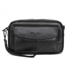 2248 CHEER SOUL brand genuine leather clutches for men clutch bags male purse wallet cowhide