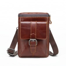 Meigardass genuine leather bags for men small waist bags men cowhide crossbody shoulder bag handbag purse male