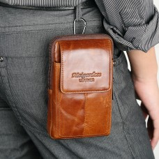 MEIGARDASS genuine leather belt waist bags for men phone coin purse 6022