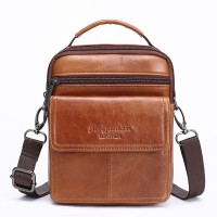 6054-1 Meigardass genuine leather small messenger bags for men shoulder bags male mini handbags cowhide phone holder