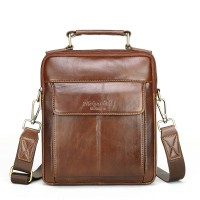 Genuine leather shoulder bags for men messenger crossbody  male handbags cowhide 6161