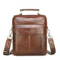 Genuine leather shoulder bags for men messenger crossbody  male handbags cowhide 6161