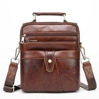 6163 Meigardass genuine leather shoulder bags for men messenger bags male handbags purse