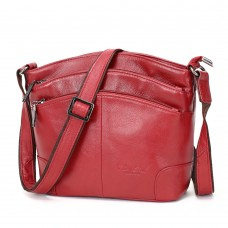 CHEER SOUL genuine leather small messenger bags for women mini handbags shoulder bags male