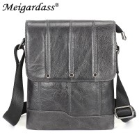 8823 Meigardass Genuine Leather Small shoulder bags for men messenger bags male handbags crossbody ipad pouch